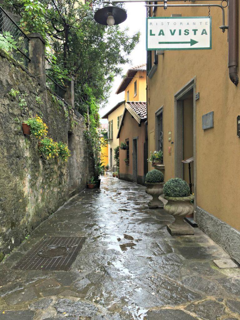 Rainy days in Varenna