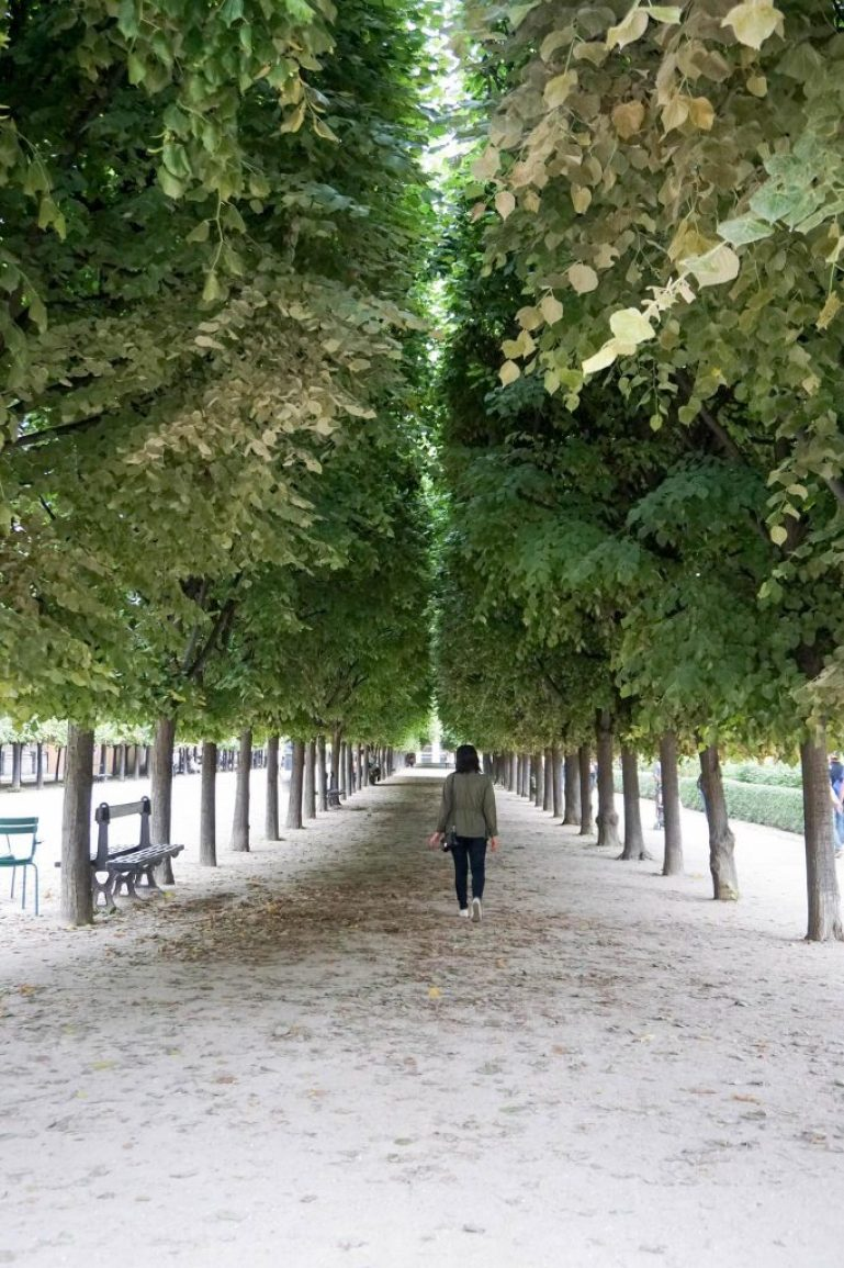 Jardin du Palais Royal Paris
