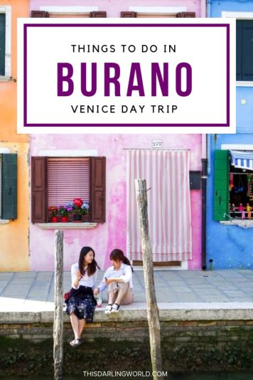 Venice to Burano: Exploring Italy's Most Colorful Island