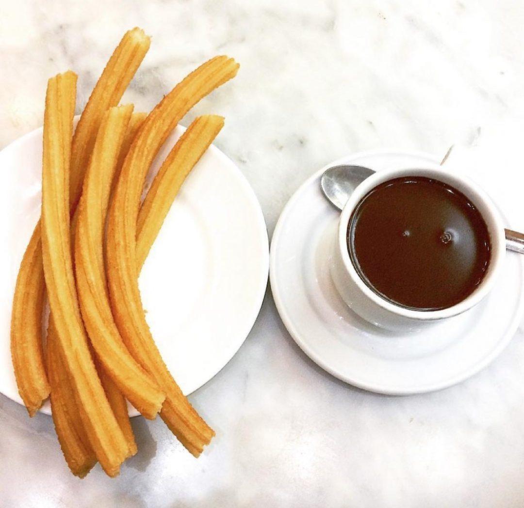 Chocolatería San Ginés in Madrid