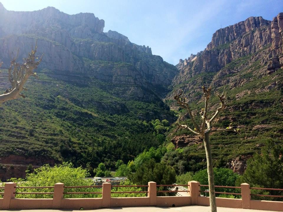 Montserrat Mountains of Barcelona Spain