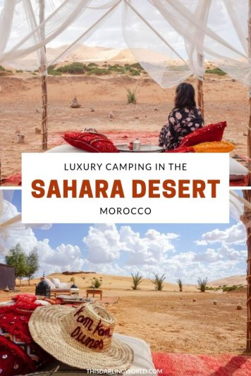 Camping in Morocco: Experience a Sahara Desert Luxury Camp