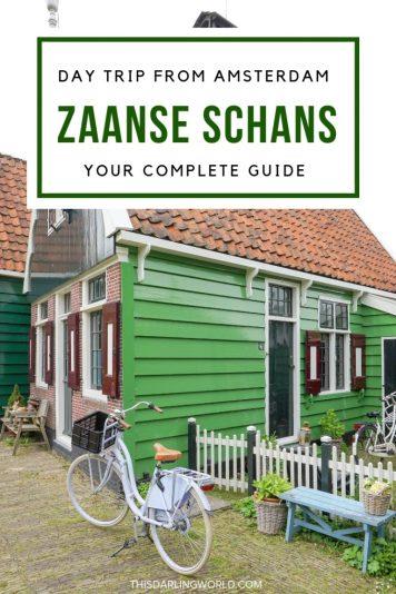 Day Trips From Amsterdam: Zaanse Schans in Zaandam