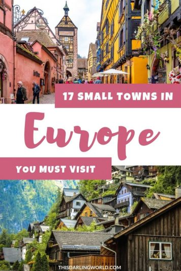 17 Beautiful Small Towns in Europe You Must Visit