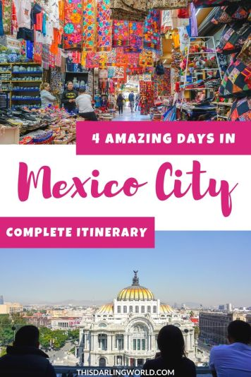 Mexico City Itinerary: 4 Days in Mexico City