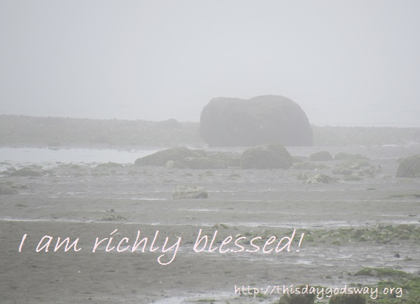 A Humble Prayer About Rich Blessings