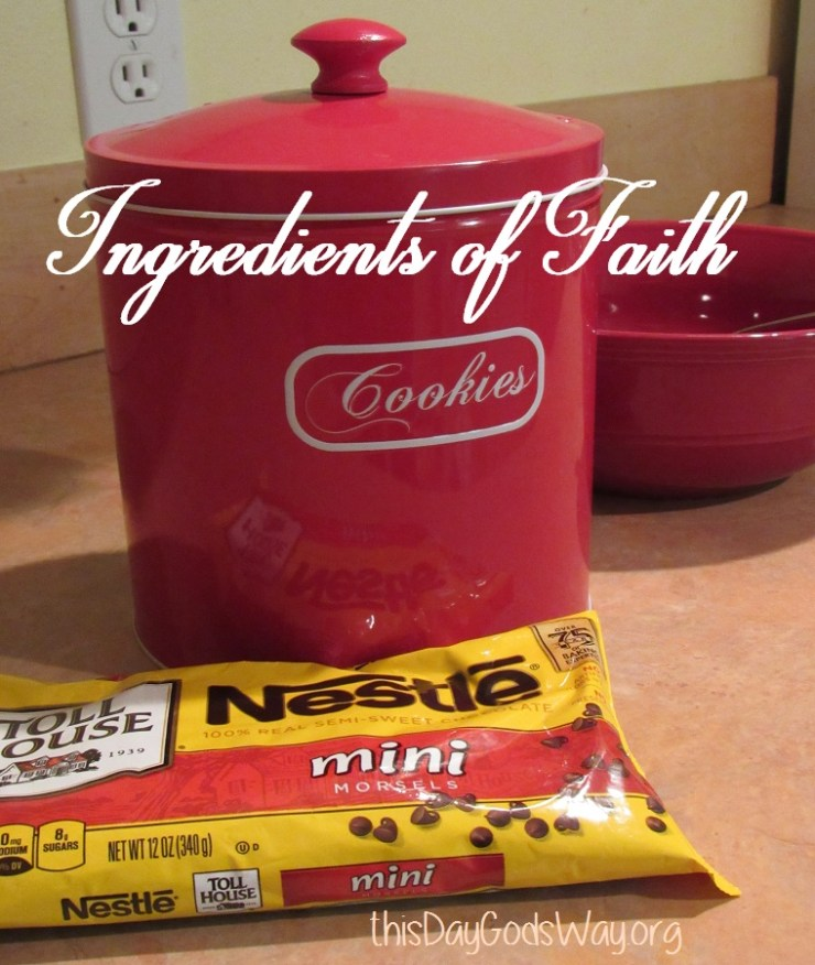 Which Is Easier – Naming the Ingredients in Cookies or Faith?