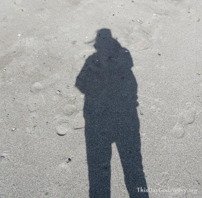 shadow-on-beach