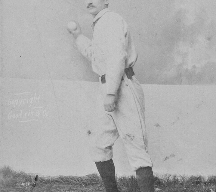"""Via a transatlantic telegraph fromParis, France,American Association40-game winnerBob Caruthersagrees to terms withSt. Louis BrownsownerChris von der Ahe. Caruthers' well-publicized holdout will earn him the nickname """"Parisian Bob."""""""