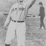 John McGraw, the team's third skipper this season, begins his 30-year tenure as manager of the Giants, losing to Philadelphia at the Polo Grounds, 5-3. The fiery skipper left the fledgling American League Orioles midseason, bringing three key players from Baltimore, first baseman Dan McGann, catcher Roger Bresnahan, and right-hander Joe McGinnity, all who started in today's game.
