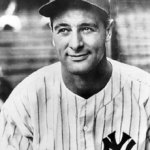 Lou Gehrig starts for the first time for New York Yankees