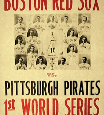 Boston Pilgrims win the first modern day World Series