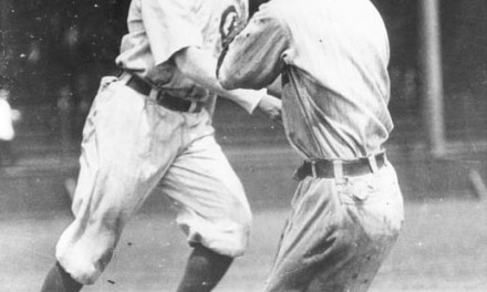 Joe TinkerandJohnny Eversengage in a fist fight on the field during an exhibition game inWashington, IN, because Evers took a taxi to the park, leaving his teammates in the hotel lobby. The pair will not speak to each other ever again.