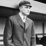 American League umpire Billy Evans needs a police escort after argumentative Detroit Tigers manager Hughie Jennings incites a riot. Jennings will be suspended.