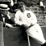 Frank Navin and Ty Cobb