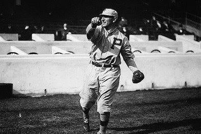 "Infielder Hans Lobert, well known as the ""fastest man"" in the National League, is traded by the Philadelphia Phillies to the New York Giants for pitcher Al Demaree, infielder Milt Stock, and catcher Bert Adams. The speedster will injure his knee in a preseason game at West Point."