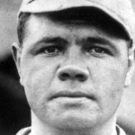 1915-Babe Ruthholds theYankeeshitless till the 8th' before weakening and giving up 3 hits.Dutch Leonardrelieves and theRed Soxwin' 5 - 2' sweeping the doubleheader. Ruth is 2 for 3 at the plate.