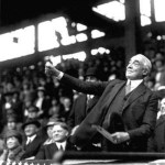 With new U.S. PresidentWarren G. Harding, former presidentWoodrow Wilson, and VPCalvin Coolidgewatching, theWashington Senatorslose their home opener, 6 - 3, to theBoston Red Sox. Senators pitcherWalter Johnsonleaves after four innings, the first time he has failed to finish anOpening Game.