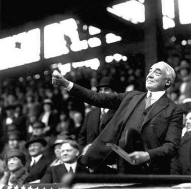 With new U.S. PresidentWarren G. Harding, former presidentWoodrow Wilson, and VPCalvin Coolidgewatching, theWashington Senatorslose their home opener, 6 – 3, to theBoston Red Sox. Senators pitcherWalter Johnsonleaves after four innings, the first time he has failed to finish anOpening Game.