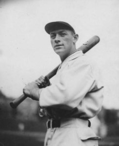 January 18, 1922 - The Chicago Cubs obtain outfielder Jigger Statz (photo) and pitcher Vic Aldridge from the Los Angeles Angels of the Pacific Coast League for eight players and cash considerations.