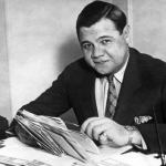 Soon after Babe Ruth receives his World Series winner's share of $6,160.46, insurance agent Harry Heilmann, who beat Ruth for the batting title by 10 points, sells him a $50,000 life insurance policy. Beneficiaries are Mrs. Ruth and adopted daughter Dorothy.
