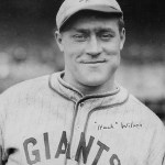 Giants OF Hack Wilson is the seventh player to hit 2 homeruns in one inning