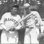 Dizzy Dean and Babe ruth at Braves Field