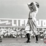 Bob Feller makes his first major league start