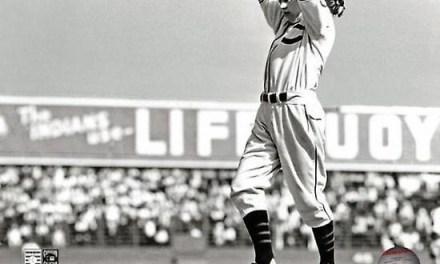 Bob Feller makes his first major league start