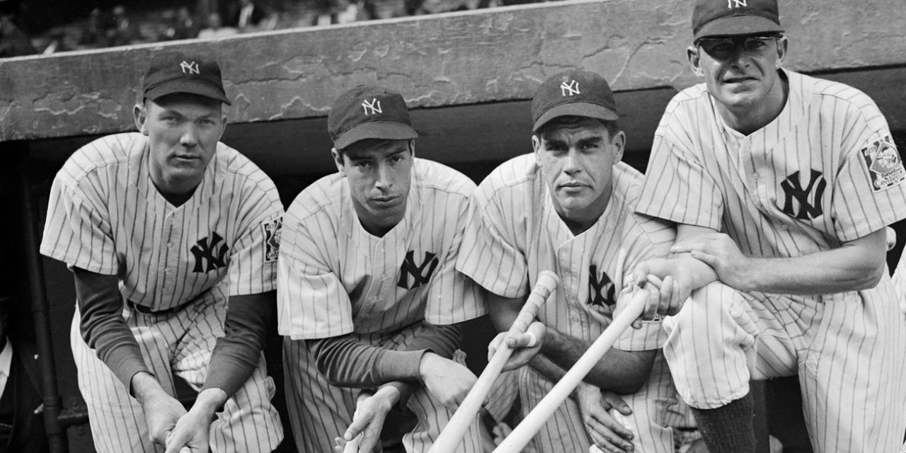 New York Yankees set a record by winning their fourth consecutive World Championship in 1939