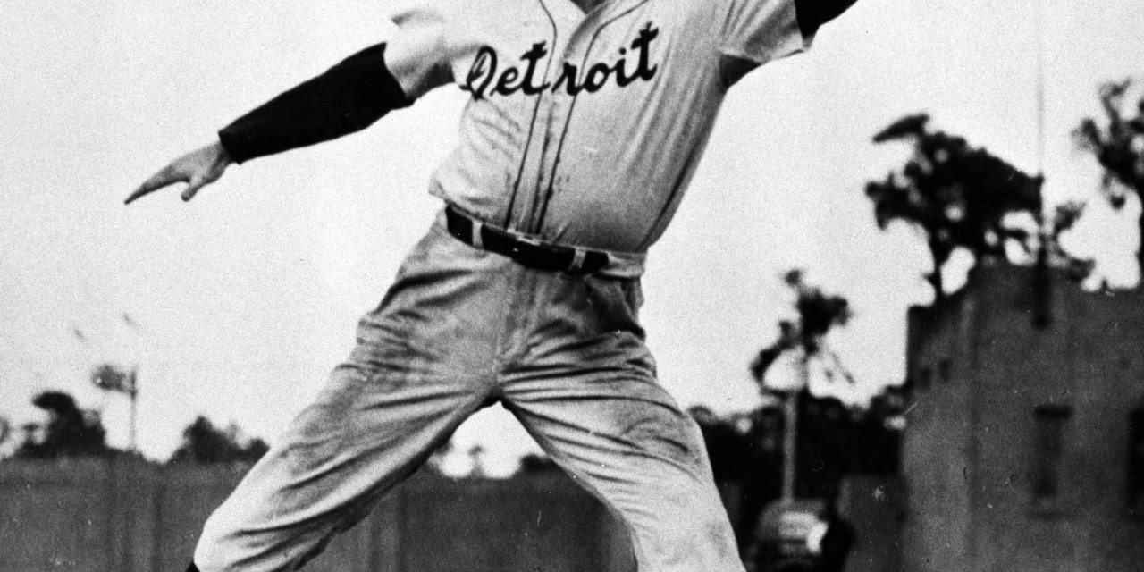 TheDetroit Tigers'rosterlistsHank Greenbergas an OF. The willingness of the team's leading power hitter to switch, at a contract boost, from 1B allows managerDel Bakerto find a position forRudy York. Also on the list areDick Bartell, picked up from theChicago CubsforBilly RogellandPinky Higgins, who had been shopped around. The four, along withBarney McCoskyandCharlie Gehringer, produce the stuff that will move the Tigers from fifth to first, although its .588 mark will be as low as that of any pennant-winner yet.