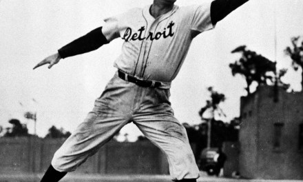 The Detroit Tigers' roster lists Hank Greenberg as an OF. The willingness of the team's leading power hitter to switch, at a contract boost, from 1B allows manager Del Baker to find a position for Rudy York. Also on the list are Dick Bartell, picked up from the Chicago Cubs for Billy Rogell and Pinky Higgins, who had been shopped around. The four, along with Barney McCosky and Charlie Gehringer, produce the stuff that will move the Tigers from fifth to first, although its .588 mark will be as low as that of any pennant-winner yet.