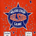 At the1940 All-Star GameinSportsman's Park, fiveNational Leaguehurlers combine to throw the firstshutoutinAll-Starhistory.Paul Derringer,Bucky Walters,Whit Wyatt,Larry FrenchandCarl Hubbellthree-hit thejunior circuit, 4 - 0, with the help ofMax West's three-run homer.