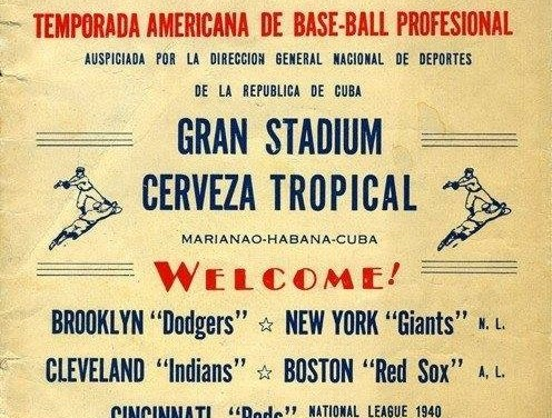 In Havana, Cuba, the Brooklyn Dodgers complete a three-game sweep of their rival New York Giants. During the regular 1940 season the Giants held a 16-6 advantage over Brooklyn.