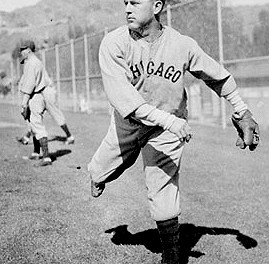 1941 – Charlie Root uses his arm and then his bat with a clutch single in the ninth inning to win his 200th game. Trailing the Cincinnati Reds, 4 – 3, the Cubs win, 6 – 4, with the 42-year-old Root going the route.