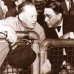 Branch Rickey and Larry Macphail