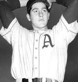 Carl Scheib became the youngest player to appear in an American League game when he tosses two-thirds of an inning in the A's 11-4 loss to New York, giving up two hits and an earned run in the ninth inning of the Shibe Park contest. The 16 year-old good-hitting right-hander will post a 45-65 win-loss record, along with a .250 batting average during his 11 seasons in the major leagues.