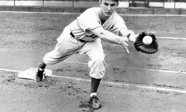 Brooklyn Dodgers first baseman Howie Schultz is rejected by the United States military