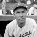 Dodger Pete Reiser, even though still as injury-prone as he was before the war, steals 3 bases, including home, in an 11 - 3 Dodger victory over the Giants. It is his 7th steal of home this year. He will lead the major leagues with 34 steals despite missing more than 30 games due to injuries.
