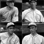 four newHall of Famemembers: catcherMickey Cochrane, second basemanFrankie Frisch, and pitchersLefty GroveandCarl Hubbell, all formerMost Valuable PlayersandWorld Serieswinners