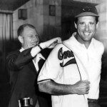 Former slugger Hank Greenberg, who tormented the Cleveland Indians for most of his career as a member of the Detroit Tigers, is hired as the Indians' farm club director by Bill Veeck.