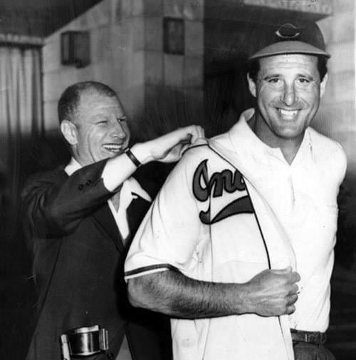 FormersluggerHank Greenberg, who tormented theCleveland Indiansfor most of his career as a member of theDetroit Tigers, is hired as the Indians'farm clubdirector byBill Veeck.
