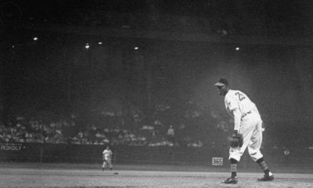 Satchel Paige makes his major league debut for the Cleveland Indians