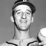 The Boston Braves increase their lead to 4 games as Warren Spahn lasts 14 innings to beat Da Bums' 2 - 1. Spahn twice picks off Jackie Robinson in his 5-hitter. In the 7-inning nitecap' Johnny Sain wins' 4 - 0. Bill Salkeldand Mike McCormick bat out of turn 3 times in game 2 and not till the latter's single in the 5th is the irregularity noticed. The umps then rule he's out of turn and he loses his hit; Salkeld's two earlier hits stand. The crowd of 40'000 pushes the Braves attendance over the 1.3 million mark' a new high. Spahn and Sain will start 11 of the next 16 games.