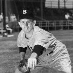 Considered a well-guarded secret, Mel Parnell reveals he pitched all but three of his 39 games for Boston last season with a sore elbow. The 27 year-old 'Dusty' finished the season 25-7 with a 2.77 ERA for the second-place Red Sox.
