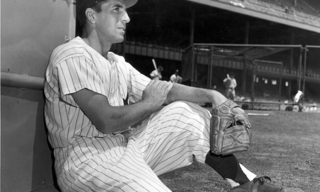 The Baseball Writers Association of America selects New York Yankees shortstop Phil Rizzuto as the American League MVP. He posted a .324 batting average with 200 hits and 125 runs, but drove in just 66 runs. Rizzuto, who receives 16 of 23 first-place votes, easily outpoints runner-ups Billy Goodman of the Boston Red Sox and teammate Yogi Berra.