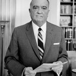 J. Edgar Hoover, longtime director of the Federal Bureau of Investigation, declines the post of baseball commissioner