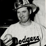 former major league pitcher Hugh Casey commits suicide by shooting himself in the neck