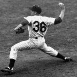 At Philadelphia'sConnie Mack Stadium,PhilliesrelieverBob MillerreplacesRobin Robertsending the starter's consecutivecomplete gamestreak at 28. The futureHall of Famer(class of1976) had finished every game he started since beating theCardinalslast season onAugust 28th.