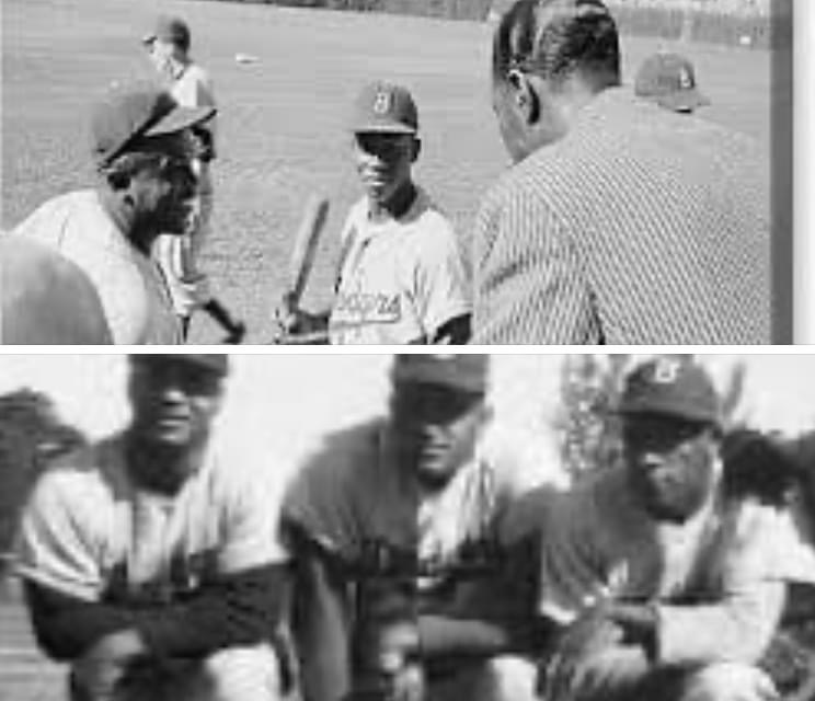 Dodgers field the first team which consists of a majority of black players